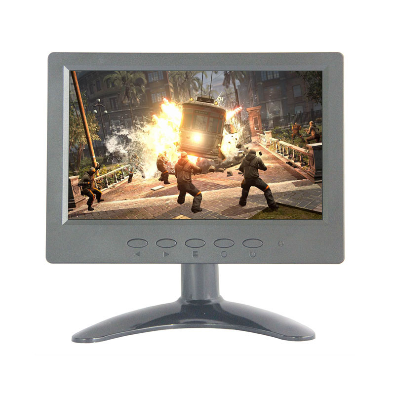 H0716 Factory direct selling 7 inch lcd monitor 1024*600 with HDMI/BNC/VGA/AV/USB interface hot sale zhixianda 17 inch hdmi hd lcd monitor touch resitance monitor input vga usb with 1024 768 pixels
