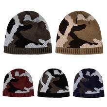Winter Rock Hip-Hop Wool knitted Hats Hedging Caps Outdoor Sports Equipment Printed Keep Warm Skating Winter Ski Caps(China)