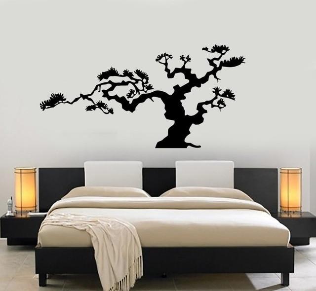 Aliexpresscom Buy Japanese Bonsai Tree Vinyl Wall Stickers - Wall decals nature