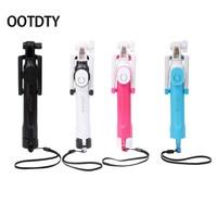 OOTDTY Selfie Sticks Handheld Extendable Selfie Stick Tripod With Wireless Remote Bluetooth Control