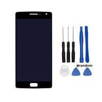 For One Plus 1+ Two A2005 A2003 A2001 5.5'' LCD Display Touch Screen Digitizer Glass Assembly without Frame For Oneplus 2 Tools