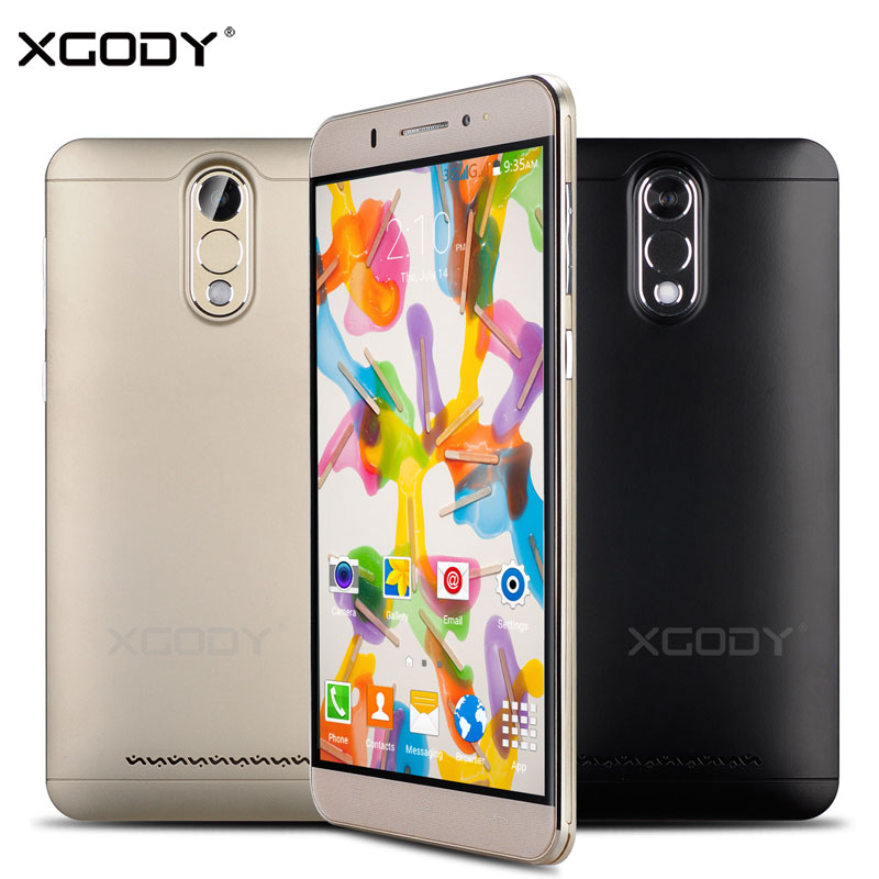 XGODY Smartphone 6 inches Quad Core Dual SIM Cards 1GB RAM 8GB ROM Android 5 1