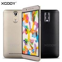 XGODY Smartphone 6 inches Quad Core Dual כרטיסי סים 1 GB RAM + 8 GB ROM אנדרואיד 5.1 MTK6580 WCDMA טלפונים סלולריים נעולים 3 גרם