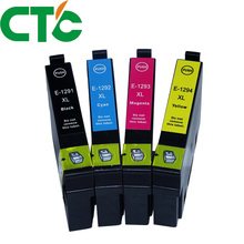 4 Pack T1291 Compatible Ink Cartridge for INK Stylus SX230 SX235W SX420W SX425W SX430W SX435W SX438W SX440W 29xl t1291t2992 t2993 t1294 ink cartridge full ink for stylus sx235w sx230 sx420w sx425w sx430w sx435w sx440w sx445w printer
