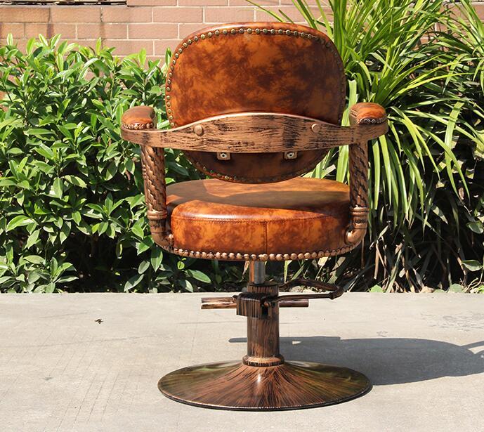 Купить с кэшбэком 66650  Haircut hairdressing chair stool down the barber chair59514