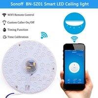 Sonoff Smart Home Cold White LED Light WiFi Wireless APP For Alexa Google Home Smart Remote