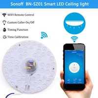 Sonoff Smart Home Cold White LED Light WiFi Wireless APP For Alexa Google Home Smart Remote