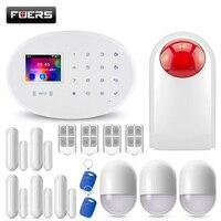 W20 WI FI GSM умная домашняя охранная система сигнализации pir детектор движения 433 МГц беспроводная карта радиочастотной идентификации приложен