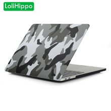 LoliHippo New Camouflage Laptop Case Notebook Protective Cover for Apple Macbook Pro Air 11.6 12 13.3 15.4 Inch Retina Touch Bar