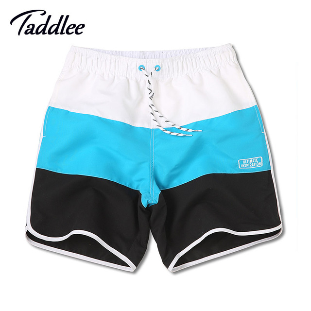 Taddlee Brand Men Board Shorts Trunks Beach Swimwear Swimsuits Men's Active Bermuda Quick Drying Short Bottoms Man Jogger Boxers