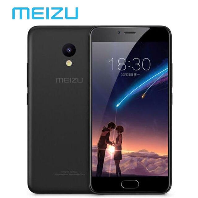 """Оригинальный Meizu M5 M611H Глобальный Версия 3 ГБ 32 ГБ Мобильный Телефон MTK MT6750 Octa Ядро 5.2 """"Сотовой Dual SIM 13.0MP ОТА"""