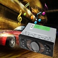 Universal 12V 1 DIN In-dash Car Radio Audio Player Big Power Amplifier Bluetooth 2.1 + EDR Car Stereo FM Radio USB / TF Card