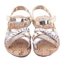 Free Shipping 2017 New Children Fashion Sandals Girls Casual Summer Suitable Shoes Toddler Rubber PVC Sole Cute Style Shoes
