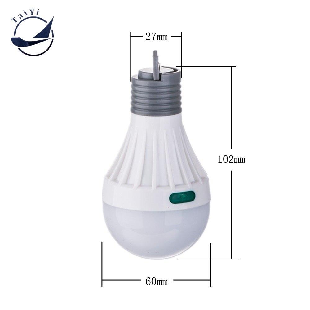 Portable Bulb Lantern Ultra Bright Camping SMD Жарықдиодты - Портативті жарықтандыру - фото 2