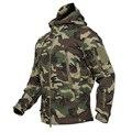 Прямая поставка, уличная Тактическая Военная флисовая куртка из флиса, Мужская водонепроницаемая куртка для охоты и походов, теплая армейская куртка с капюшоном - фото