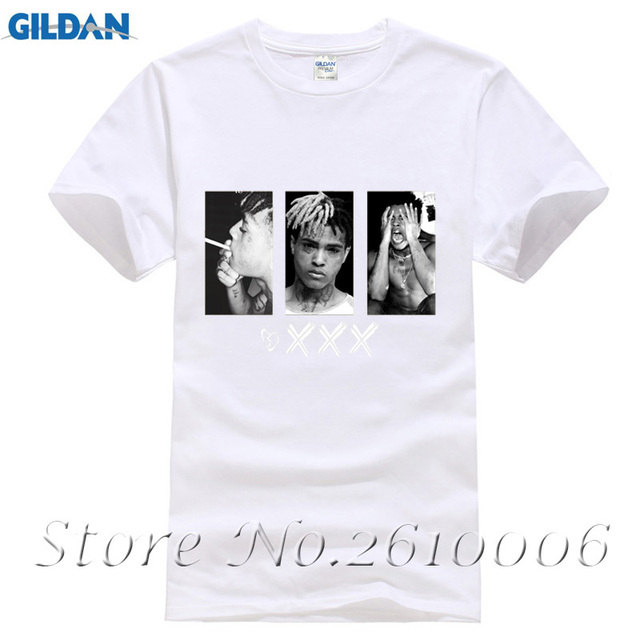 23085ff8a Xxxtentacion Shirts Dept Print T-Shirt Cool Bad Guy t shirt men summer  White T shirt hipster Popular Tee Shirt For Man