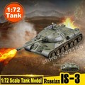 Poder mágico Modelo A Escala 1: 72 Escala Tanque Modelo de Tanque Pesado Ruso IS-3 Modelo de Tanque Estático Terminado Colored 36603 depósito de Recogida de