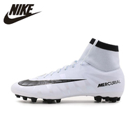 NIKE Mercurial CR7 AG Foot Ball Shoes Mens Stability Outdoor Lawn Firm Groud Lightweight Sneakers For