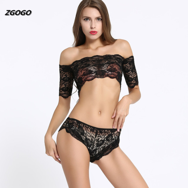 Women Fashion Clothing Hot Women's Sex Inamp; Lace Sexy Sets TopBriefs 89zgogo Brief Black Underwear Bra Us4 Intimates From nv80wmN