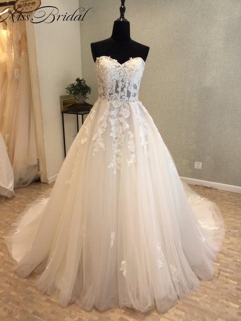 Vintage a Line Wedding Dress