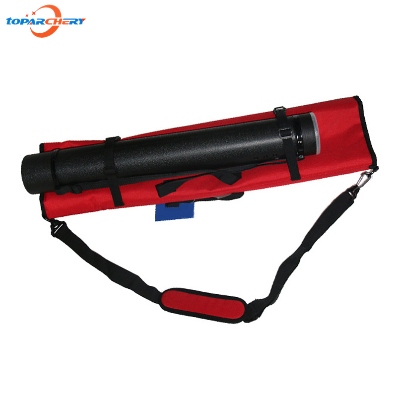 1 pc Takedown Bow Bag with Deluxe Canvas + 1 pc Adjustable Arrow Quiver Tube Holder for Archery Outdoor Hunting Shooting Games wholesale archery equipment hunting carbon arrow 31 400 spine for takedown bow targeting 50pcs