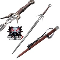 The Witcher 3: Wild Hunt Geralt of Rivia Geralt's Steel Sword Game Cospaly Sword Stainless Steel Blade