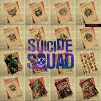 New Suicide Squad X contingent DC Batman core Vintage Kraft Paper Poster Wall Decorative Paintings 42