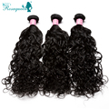 6A Brazilian Virgin Hair Extensions Wet And Wavy Hair Unprocessed Human Hair Weaves 3Pcs/Lot Water Wave Rosa Queen Hair Products
