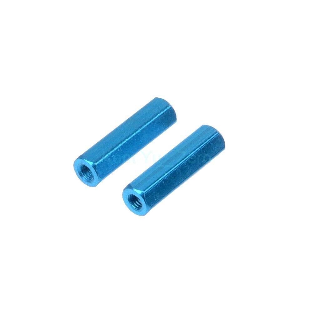 08057 Blauwe Metalen Differentiëlen Post Rc Hsp Voor 1/10 Originele Deel Off-road Truck, Voor Hsp Nitro Vihicles 94188