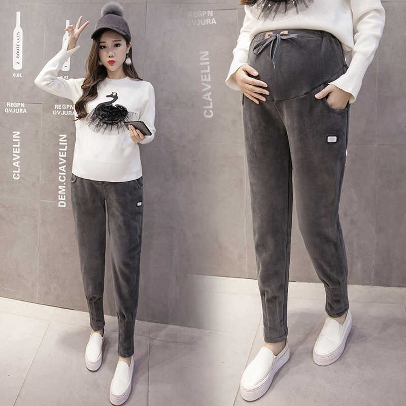 Модные спортивные штаны для беременных, спортивные штаны, Одежда для  беременных, повседневная одежда для 7337146554b