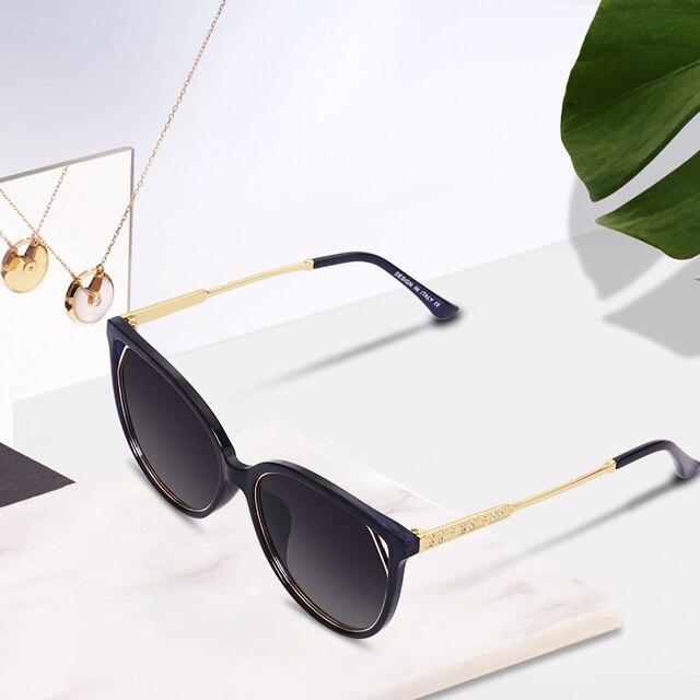 AOFLY BRAND DESIGN Fashion Sunglasses 2018 Polarized Cat Eye Sun Glasses For Women Rhinestone Temple UV400 A104  1