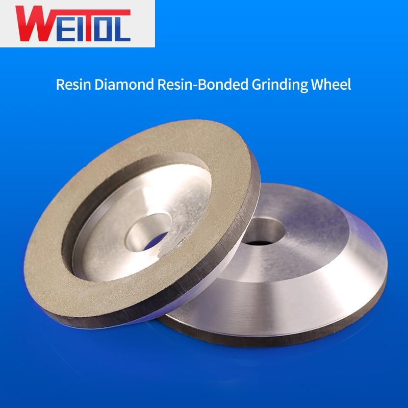 Weitol 1 pcs diamond bowl grinding wheel sharpening machine grinding wheel tungsten steel tool alloy grinding