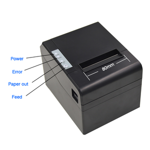 "Image 4 - 80mm קופה ברקוד קבלת הצעת חוק תרמית מדפסת wih במהירות גבוהה עבור 300 מ""מ\שנייה עם USB LAN bluetooth להשתמש עבור מטבח עם חותך אוטומטי"