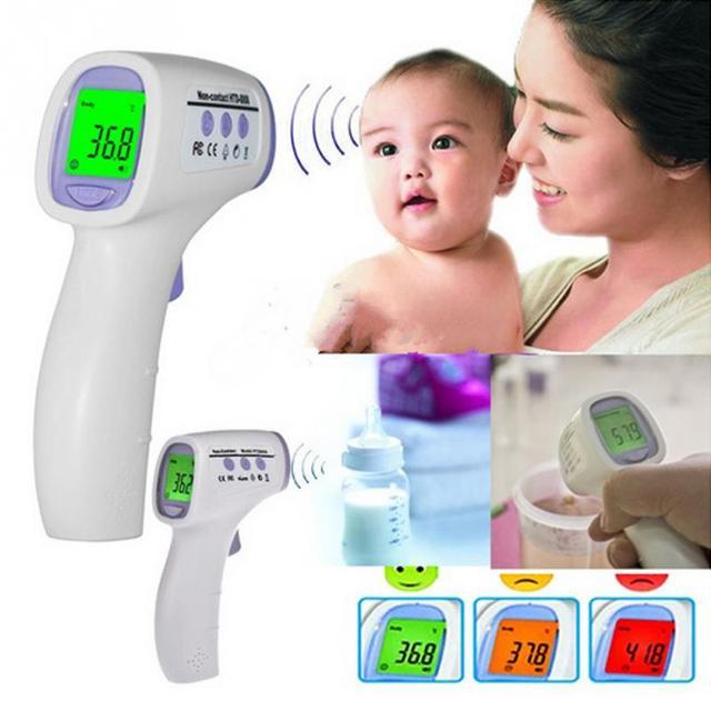 Bebé/Adulto Termómetro Infrarrojo Termómetro Infrarrojo Médica Hogar infantil Multifunción Rápido Detección Precisa Termómetro