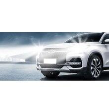 Lsrtw2017 Car Clear LED Headlight For Chery Tiggo 8 2018 2019 2020