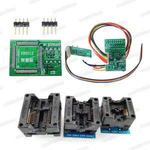 Image 4 - 100% Original  Newest RT809F LCD ISP programmer+ 11 Items +SOP8 Test Clip+1.8V Adapter+TSSOP8/SSOP8 Adapter Free shipping