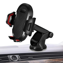 Universal Car Phone Holder Gravity Car Long Rod Suction Cup Mount No Magnetic In Car For Iphone X 8 Samsung Xiaomi car swivel suction cup mount holder for htc one x black