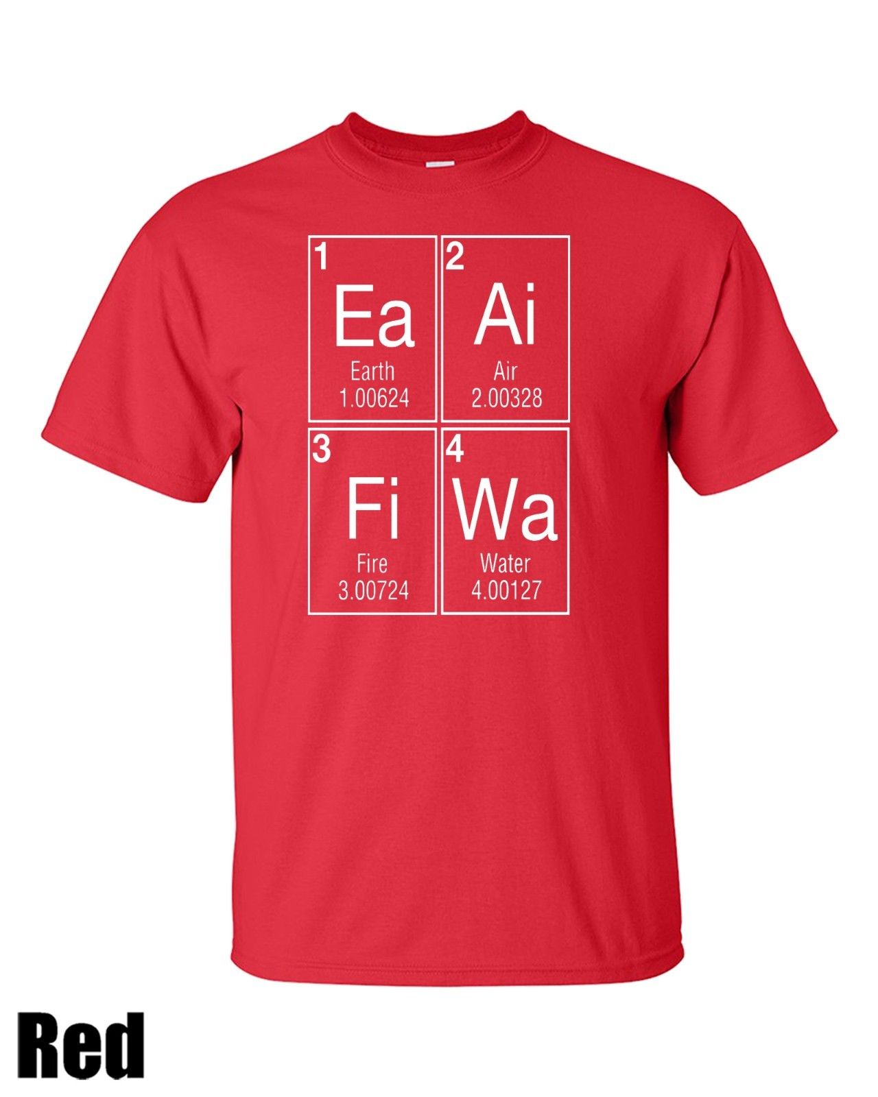 Ancient 4 Elements T shirt New T Shirts Funny Tops Tee New Unisex Funny Tops Fashion T Shirts Summer Straight 100 Cotton in T Shirts from Men 39 s Clothing