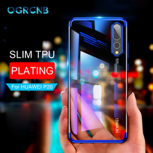 Soft Silicone Transparent Cover Cases For Huawei P10 P20 Lite Plus P20 Pro Ultra Slim Cover