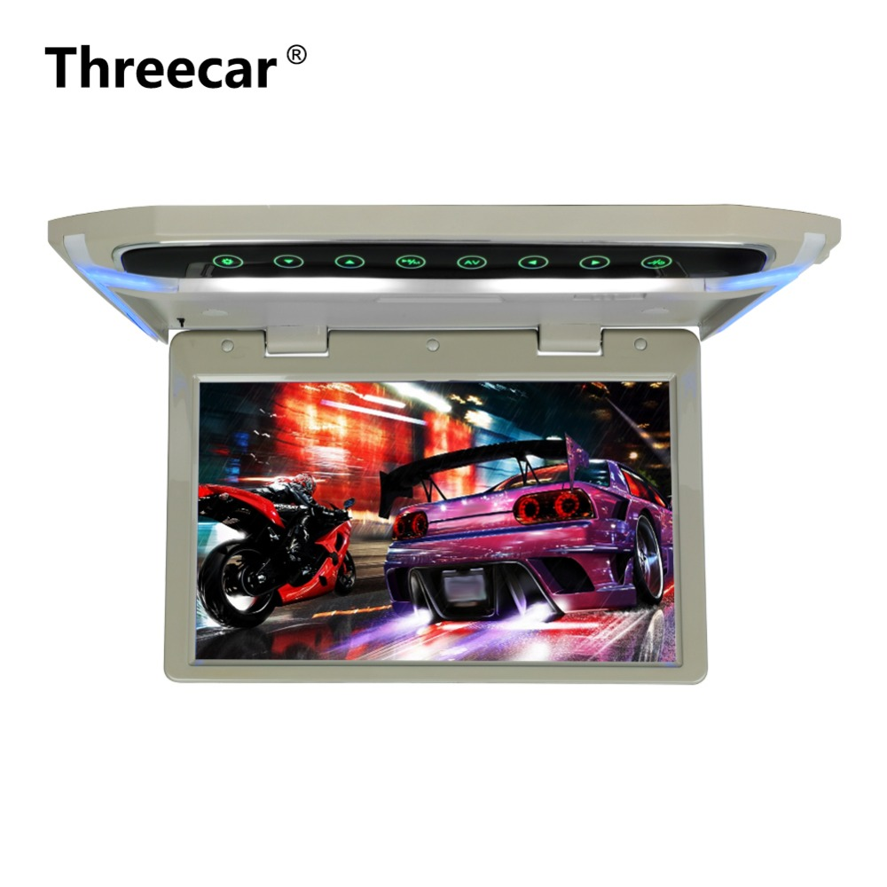 10 1 Inch Car Monitor Roof Mount Car LCD DVD Monitor Flip Down monitor Overhead Multimedia