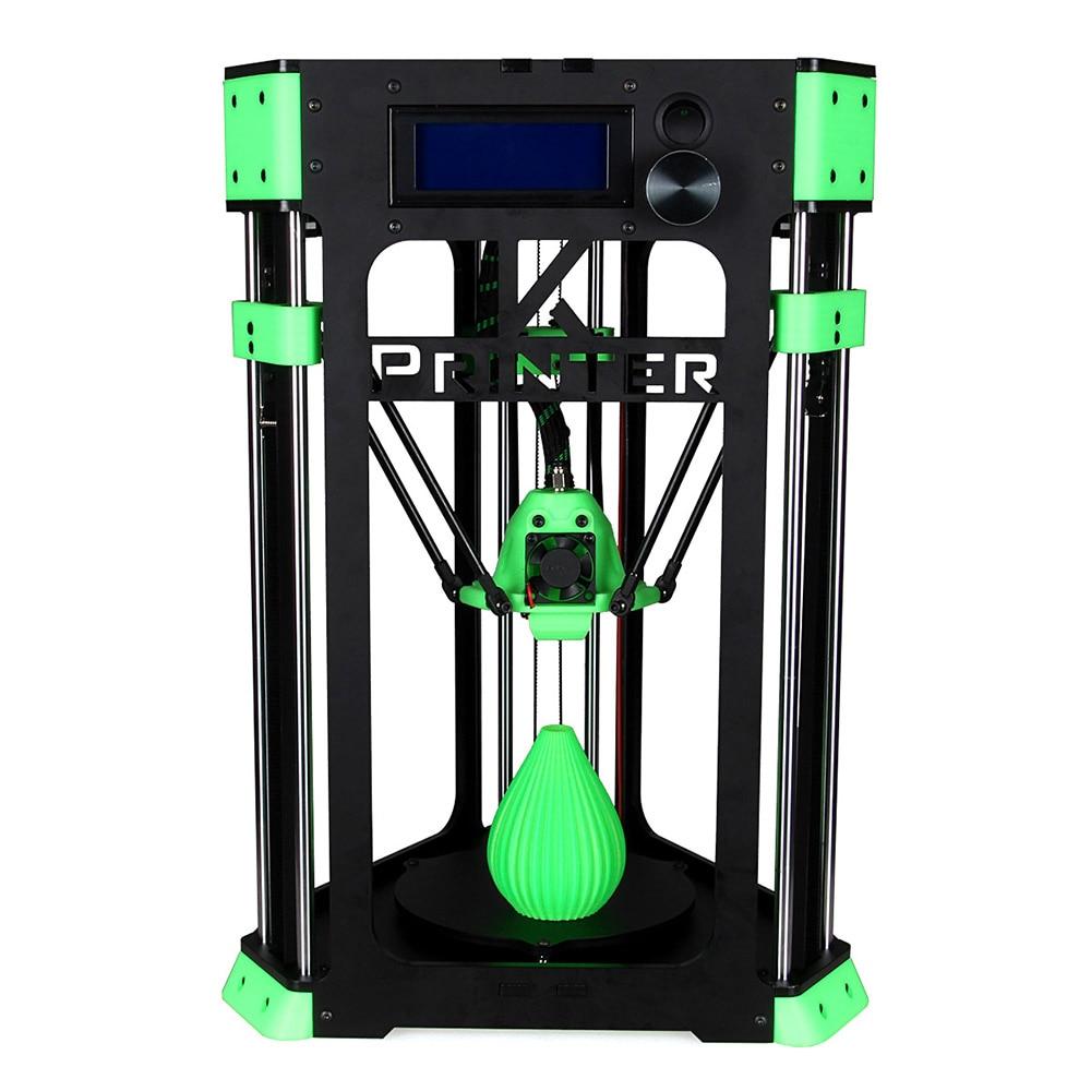 FD130 DIY Delta 3D printer with build plate 130*130mm roys 3d fd 1013