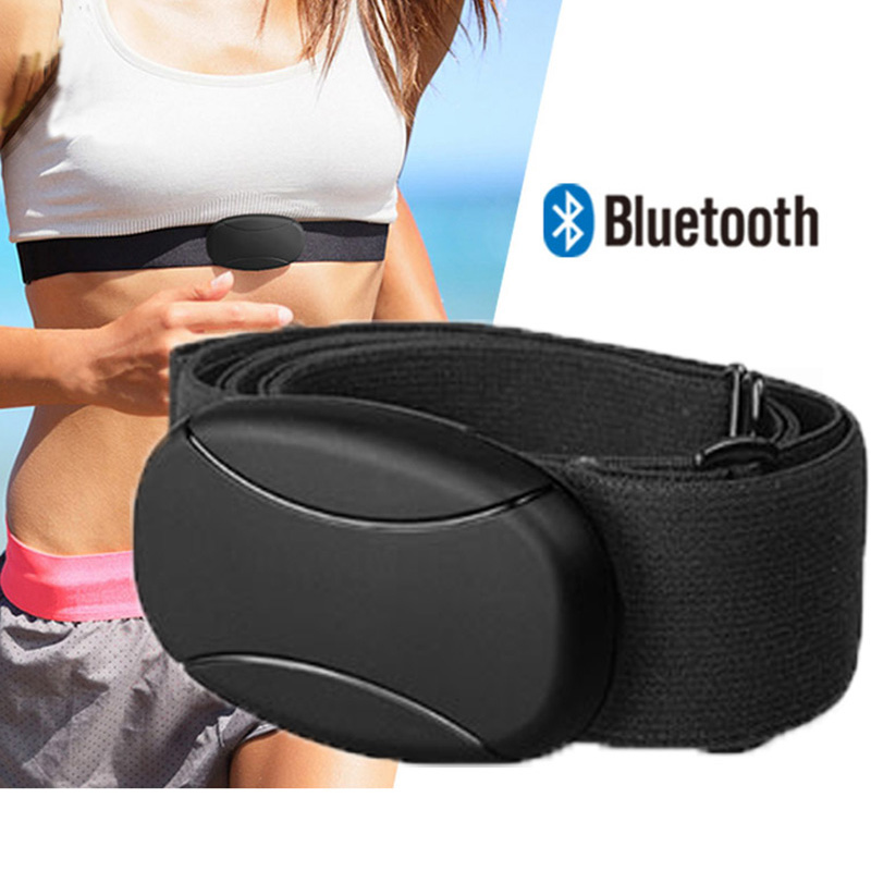 Bluetooth Heart Rate Chest Strap Belt IPX6 Waterproof BT 4.0 Smart Pulse Sensor Heart Rate Monitor Polar V800 Amazfit Stratos