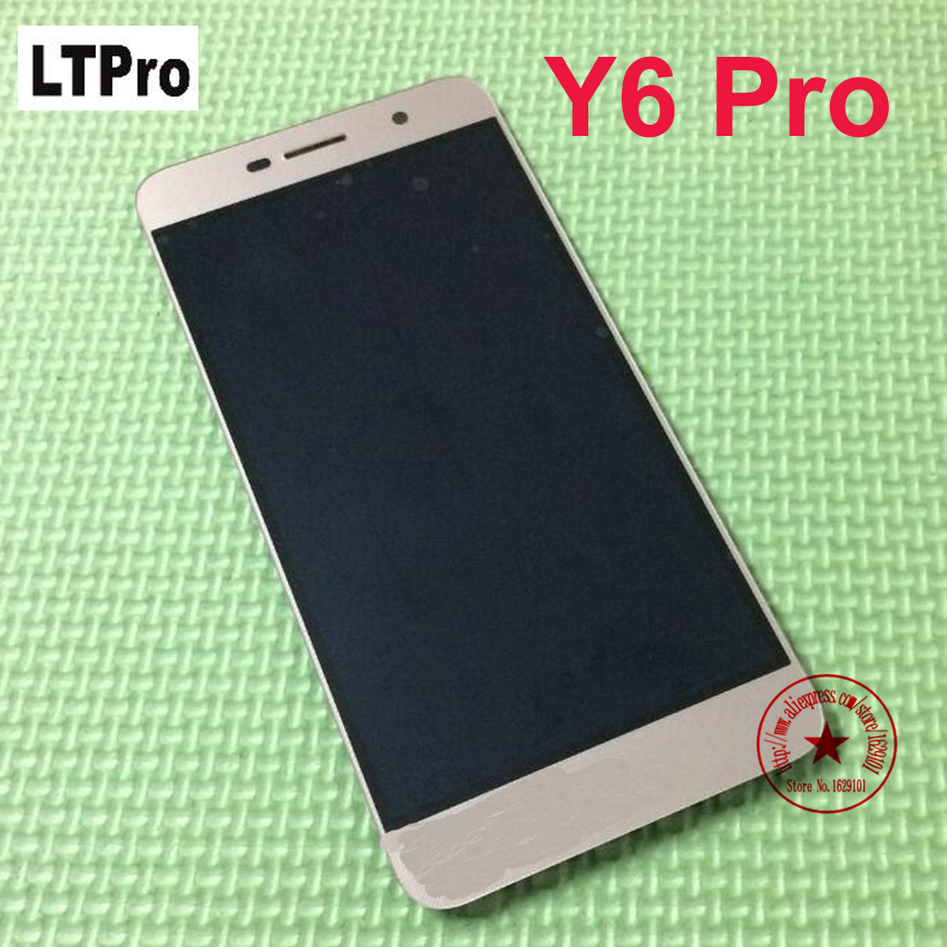 LTPro 100% Tested <font><b>LCD</b></font> Display Touch Screen Digitizer Assembly For <font><b>Huawei</b></font> <font><b>Y6</b></font> <font><b>Pro</b></font> <font><b>TIT</b></font>-U02 Y6Pro <font><b>TIT</b></font>-<font><b>AL00</b></font> Phone parts Replacement image