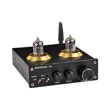 HiFi فراغ 6J1 أنبوب بلوتوث 4.2 مضخم رقمي 50 واط * 2 CSRA64215 TPA3116 مكبر كهربائي الصوت مع ثلاثة أضعاف باس لهجة التحكم