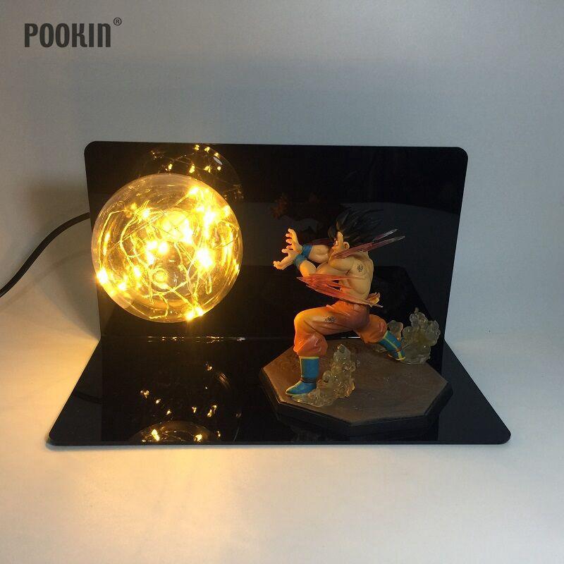 Luzes da Noite dragon ball son goku quatro Geração de Energia : Mudar