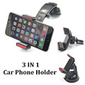 3 in 1 Multifunctional Universal Car Phone Holder Stand Adjustable Long Arm Dashboard Mobile Air Vent Phone Holder for Huawei