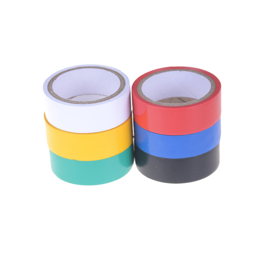 3m Colorful Electrical Insulation Adhesive Tape Safety Pvc Wire With Certificate Of Waterproof High Temperature Premium Grade Insulated 2pcs In From Home Improvement