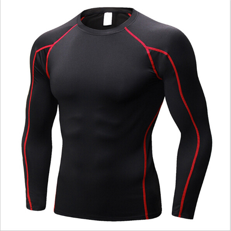 #1059 PRO Men Body Gym Sports Running Training Compression Muscle Base Layer Thermal Top Long Sleeve Shirts Tops 10Colors S-XXL