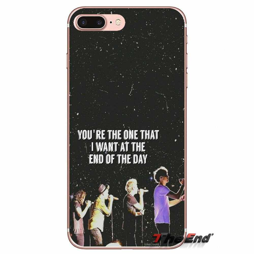 End of the Day One Direction lyrics Case For Xiaomi Redmi 4 3 3S Pro Mi3  Mi4 Mi4i Mi4C Mi5 Mi5S Mi Max Note 2 3 4