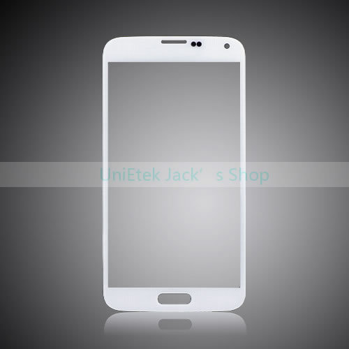 Original Touch Panel Glass White for Samsung Galaxy S5 SM-G900F Front Digitizer Glass with Logo Free Shipping